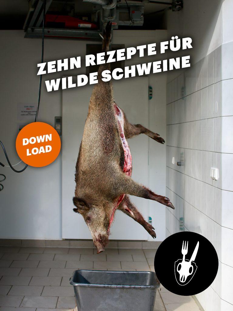 Rezept, Zubereitung, Wildschwein, Schwarzwild, Fleisch, Keule, Rücken