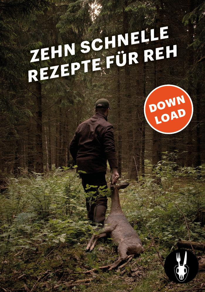 Reh, Rezept, Zubereitung, Wild, Wildfleisch, Wildbret, Wild auf Wild, Schwarzwild, Wildschwein